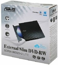 ASUS SDRW-08D2S-U LITE - portable 8X DVD burner - compatible for Windows and Mac OS