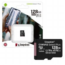 Kingston Canvas Select Plus 128 GB Class 10