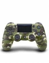 Playstation 4 DualShock 4 Wireless Controller V2 - Green Camouflage
