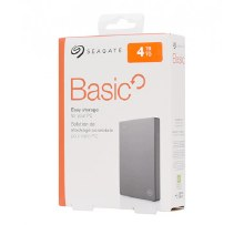 "Seagate Basic 4TB 2.5"" Portable USB 3.0 External Hard Drive"