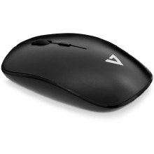 V7 Wireless USB Optical Mouse - Black