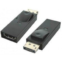 VIVANCO Displayport HDMI adapter black