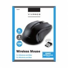 VIVANCO USB Wireless Mouse 1000