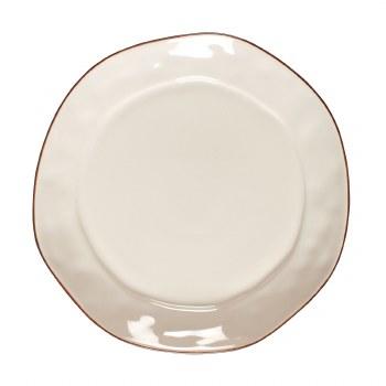 Cantaria White Dinner Plate