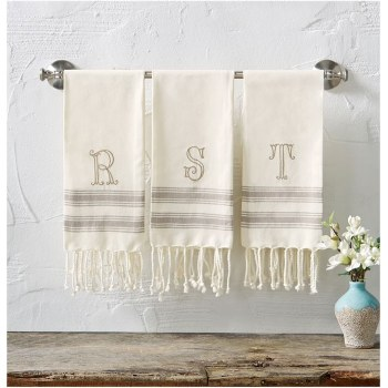 """B"" Intial Turkish Towel"