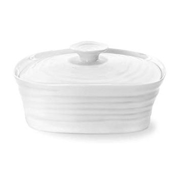 Sophie Conran White Covered Butter Server