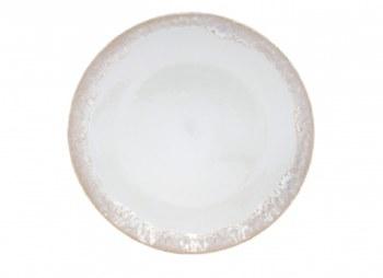 Taormina White Dinner Plate