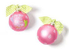 Coton Colors For This Child Pink Ornament