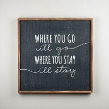 """""""Where You Go"""" Board"""