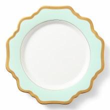 Anna Weatherly Aqua Green Salad Plate