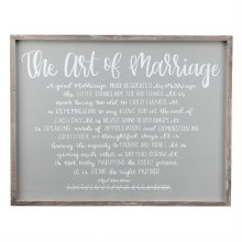 Art Of Marriage Frame