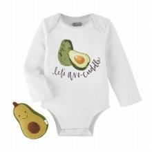 Avocado Rattle/Crawler Set