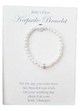 Pearl baby bracelet sz 4.5