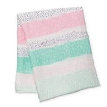 Bamboo Pink Blanket