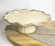 Etta B Birch Cake Stand