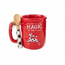 Believe Check Mug/Spoon