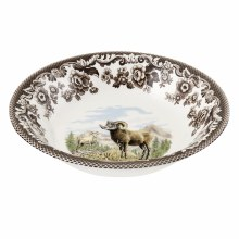Woodland Spode Big Horn Sheep Cereal Bowl