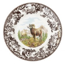 Woodland Spode Big Horn Sheep Salad Plate