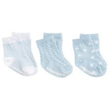 Blue Baby's First Socks