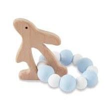 Blue Bunny Wood Teethers