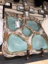 Etta B Blue Party Platter