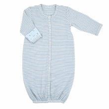 Blue Stripe Gown