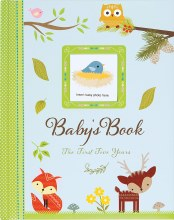 Boy Baby Book First 5 Years