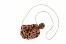 Brown Leopard Coin Purse