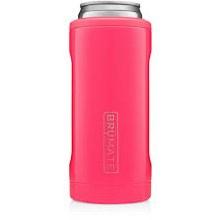 Brumate Slim Can Cooler Neon Pink