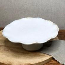 Etta B Charming White Cake Stand