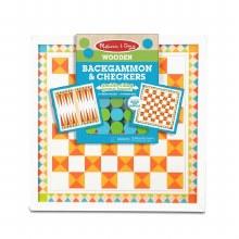 Checkers Backgammon