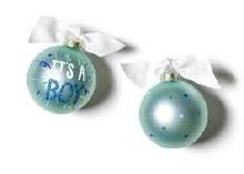 Coton Colors It's A Boy Popper Ornament