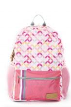 Coral Patterned Backpack