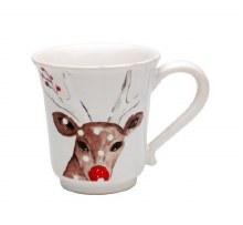 Casafina Deer Friends Linen Mug