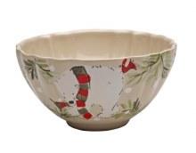 Casafina Deer Friends Linen Soup/Cereal Bowl