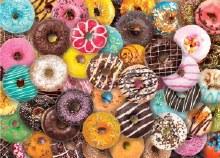 Jigsaw Puzzle Donut
