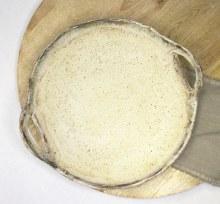 Birch Round Open Handle Platter