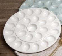 White Egg Platter