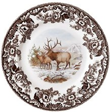 Woodland Spode Elk Dinner Plate