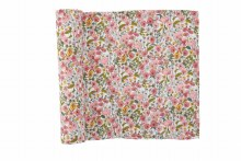 Fall Floral Muslin Swaddle