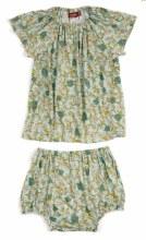 Milkbarn Dress Set Floral 12-18 Month