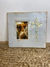 4x6 Grey Cross Frame