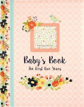 Girl Baby Book First 5 Years