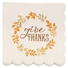 Give Thanks Napkins