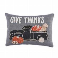 Give Thanks Dog Truck Basket