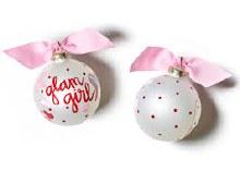 Glam Girl Ornament