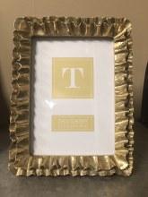 Gold Ruffle Frame
