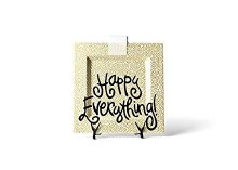 Coton Colors Gold Small Dot Happy Everything Big Square