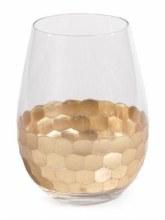 Fez Gold Wine Glass