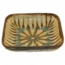 Sparrow Small Square Serving Bowl